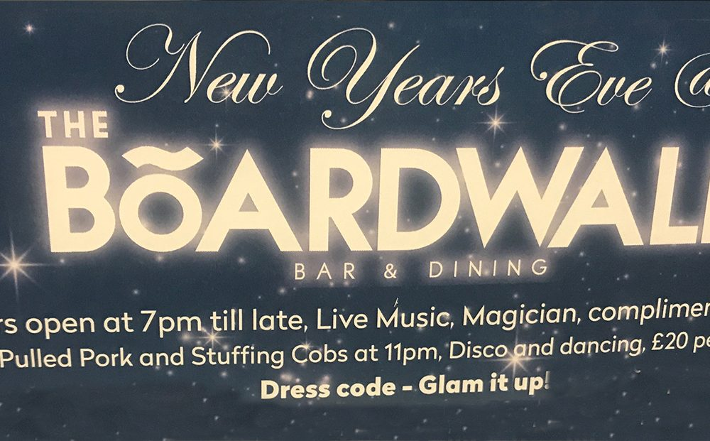 New Years Eve @ The Boardwalk
